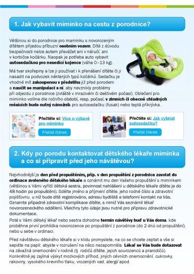 E-book 20x péče o dítě