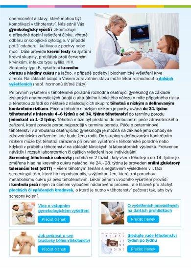 E-book 20x o těhotenství