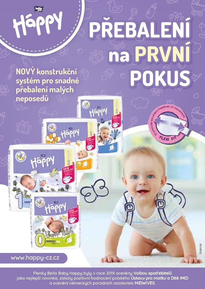 Brožura 20x péče o dítě