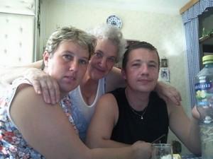Spolu s Martinovou maminkou