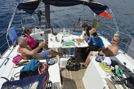 Jachta v Chorvatsku