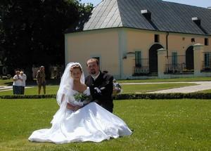 2002 - svatba v Manětíně