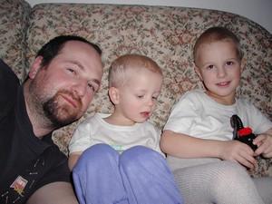 Moji tři nejdražší chlapi :-)