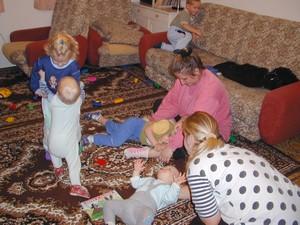 Návštěva dětí a maminek