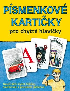 česká abeceda písmen – Písmenkové kartičky pro chytré hlavičky