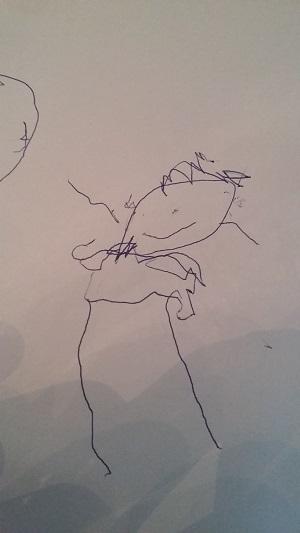 Šimon Hendrych - 3roky a 2,5 měs: chlapeček na obrázku