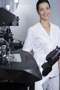 Ing. Eva Blahová - vedoucí kliniky a laboratoří